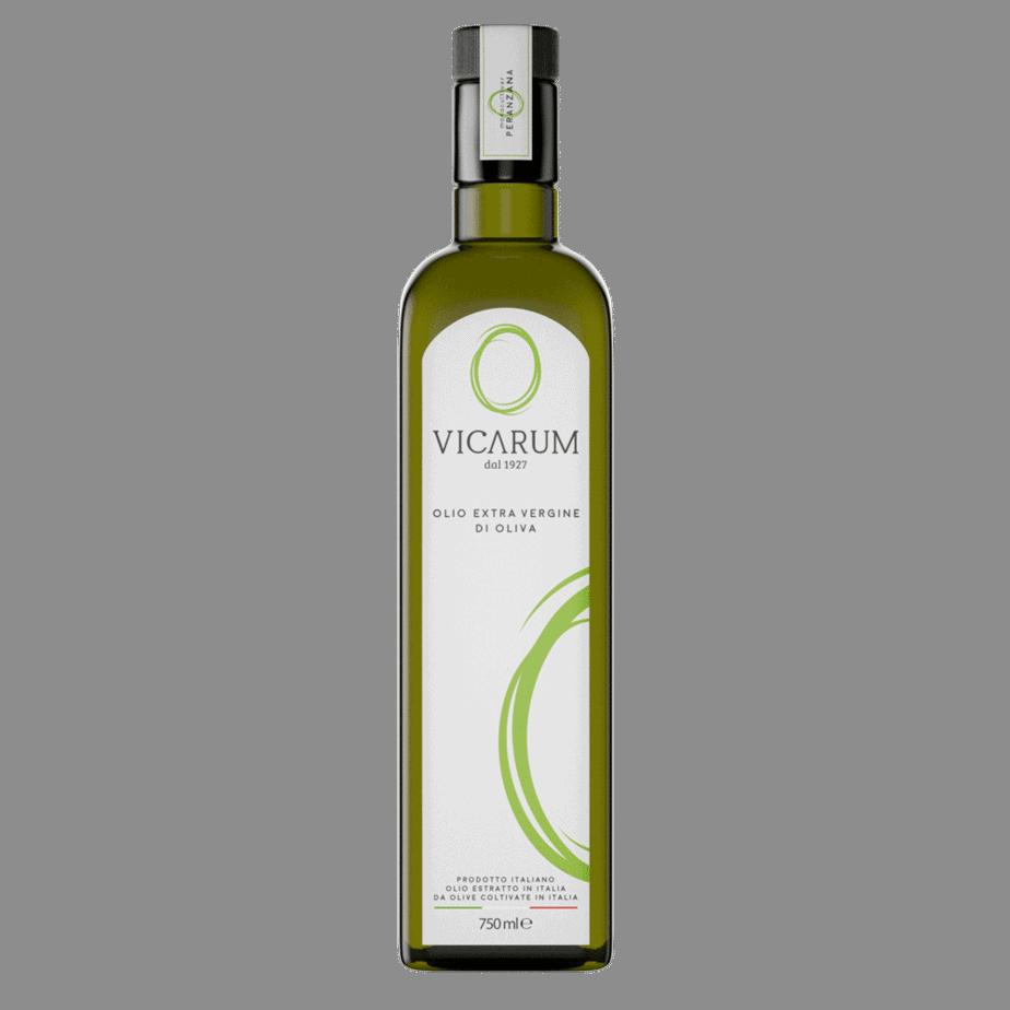 bottiglia olio vicarum peranzana da 0,75 ml