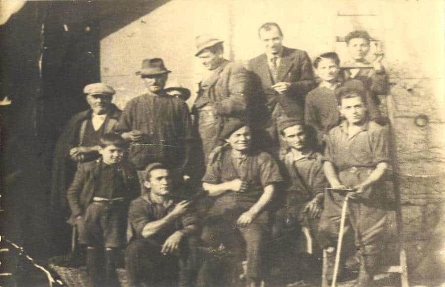 il frantoio nel 1936